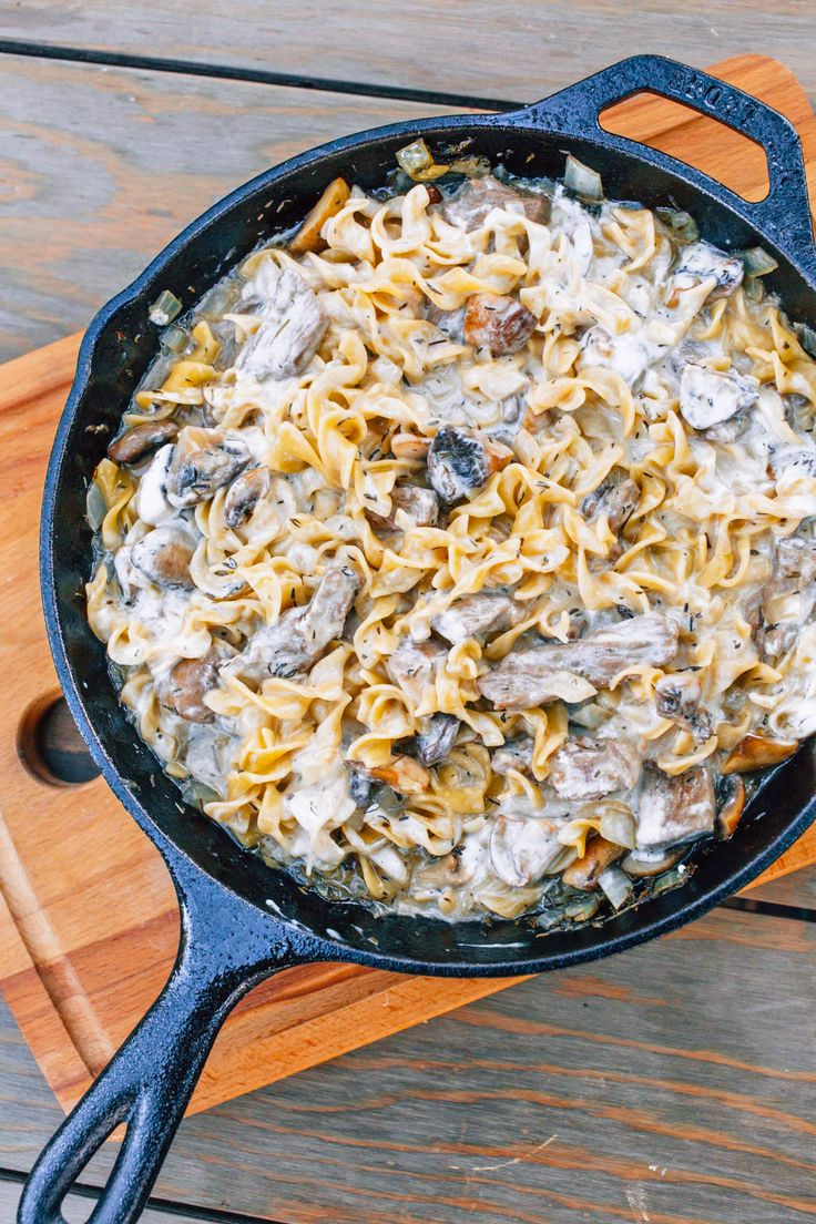 "From thru-hiker forums to the halls of REI, it's a well known among backpackers that beef stroganoff is one of the best tasting dehydrated ""meals in a bag"" on the market. It's warming, filling, and loaded with big savory, umami flavors. When we go backpacking and don't feel like cooking, nine times out of ten we'll pick up a bag of stroganoff. We've even done a few multi-day hikes where we ate stroganoff every other night. It's just that good. But what about car campers? Eating a dehydrated…"