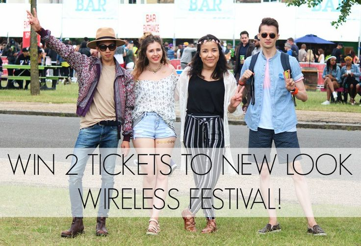 New Look Wireless Festival Tickets Giveaway - #WIN 2 TICKETS! #Giveaway