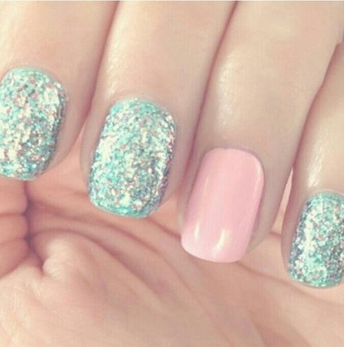 I'm going to do that to my nails and I have them colors