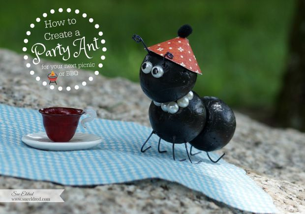 How to create a Party Ant from Sue's Creative Workshop.