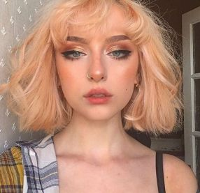 lowkey falling for her   Nose makeup, Makeup looks, Hair ...