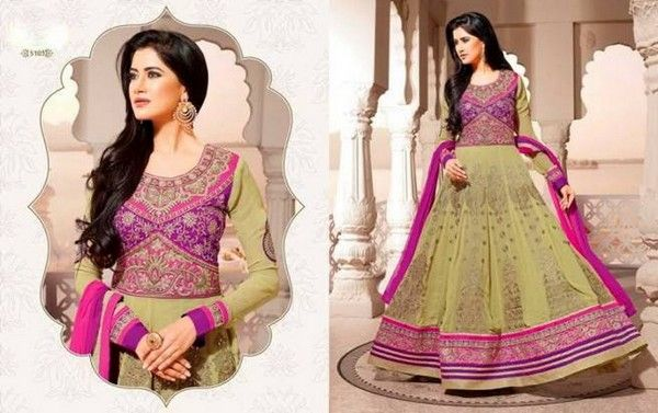 Beautiful Embroidered Suit Collection for Eid 2014