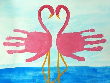 Handprint - Flamingos                                                                                                                                                                                 Mehr