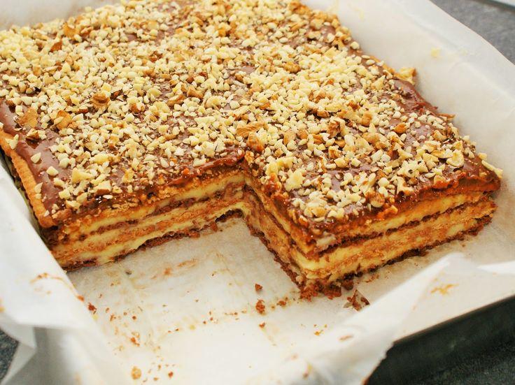 Kuchenny Magulon: Snickers bez pieczenia