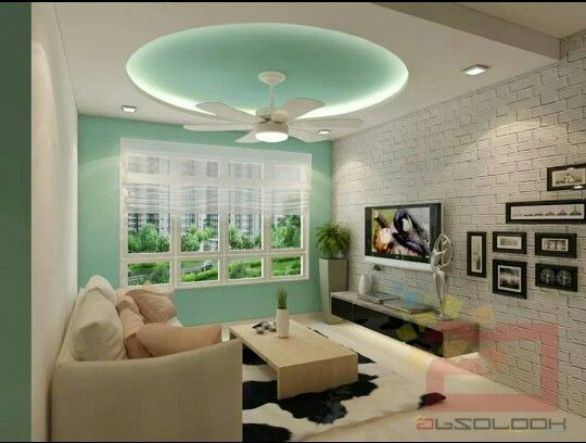 Unique false ceiling by Absolook.