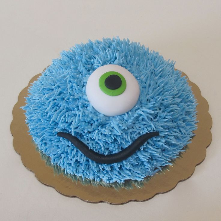 Furry Monster Smash Cake