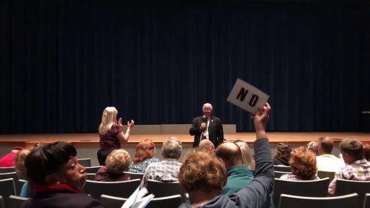 GOP Rep. Joe Barton Tells Constituent to Shut Up in Heated Town Hall [VIDEO] #news #alternativenews