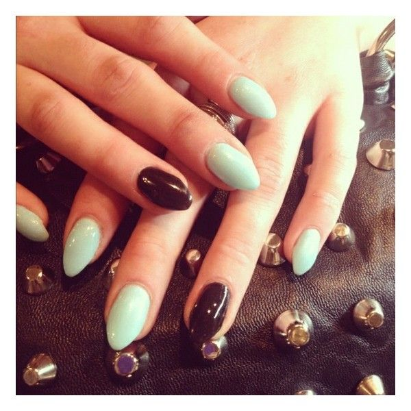 Stiletto nails ❤ liked on Polyvore