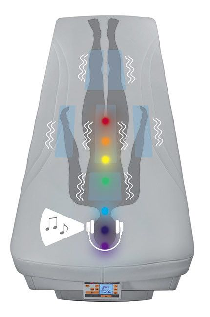 Vivaldi - Vibro musical and chromotherapy wellness bed
