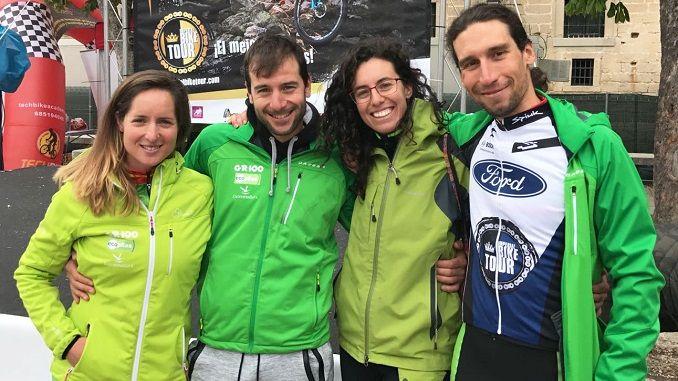 El placentino Pedro Romero, del equipo Extremadura-Ecopilas sigue reinando la clasificación general de la Imperial Bike Tour by Ford en San Lorenza de El Escorial.