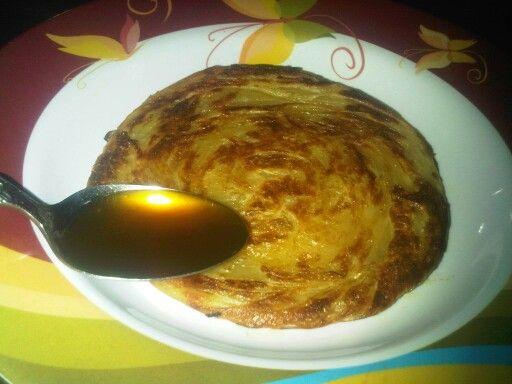 Roti maryam + sesendok madu = sempurna
