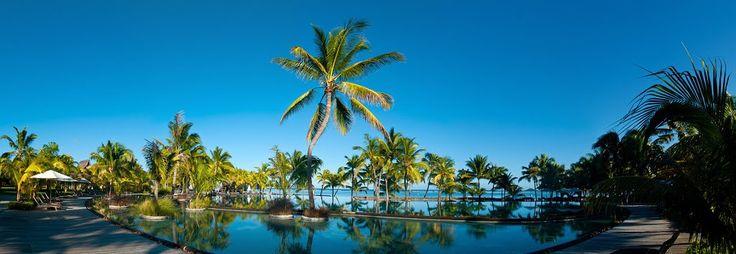 Trou aux Biches Hotel pool, Mauritius