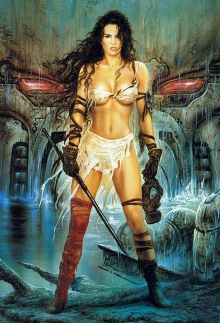 Fantasy Art Women Images 2 | MODELS (of fitness): Hunter-gatherers, Tarzan, Spartan soldier, stone ...