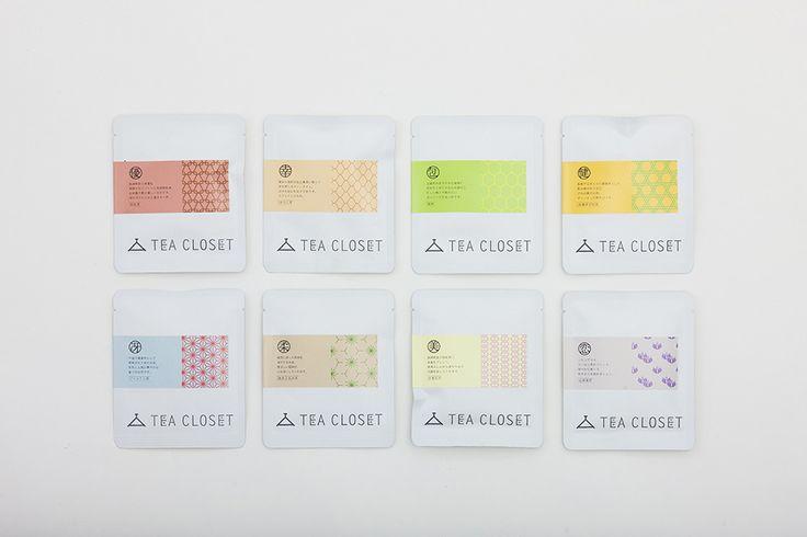 TEA CLOSETのデザイン お茶の秋月園  http://www.pinterest.com/chengyuanchieh/