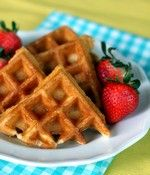 Light & Crispy Waffles - These were just as described! They were delicious! I added some cinnamon for extra deliciousness.