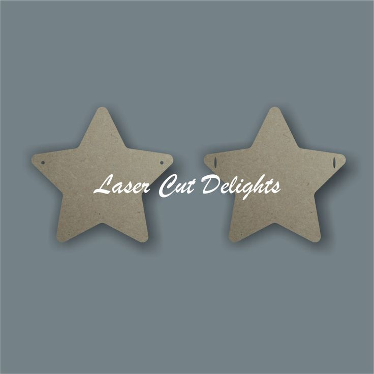 Basic star bunting but great in any little boys bedroom to personalise it