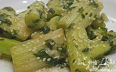 сельдерей рецепты | Пряный маринованный сельдерей в меду ...
