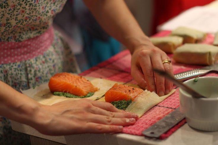 perenelle longpré: Google+ #salmon en croute