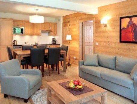 Dit sprookjesachtige skidorp is zeer geschikt voor beginners en families. Direct aan de piste vind je dit mooie appartement.