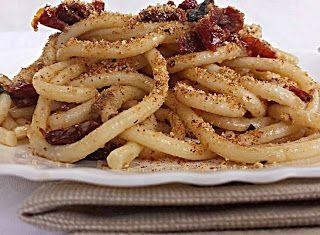 Denny Chef Blog: Bucatini al pane fritto
