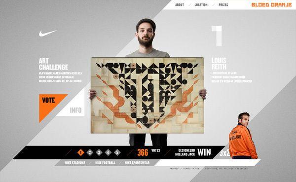 Nike art contest. #website