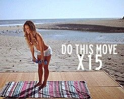 always love a good quick booty workout. // Malibooty workout! – No lunges, low stress on your knees! Actual animated illustrations. | REPINNED