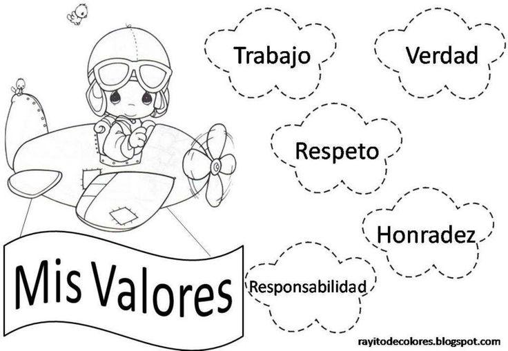Valor Respeto Para Colorear, Imagenes de los valor respeto para ...