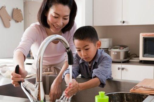 6 secrets of kids who rarely get sick