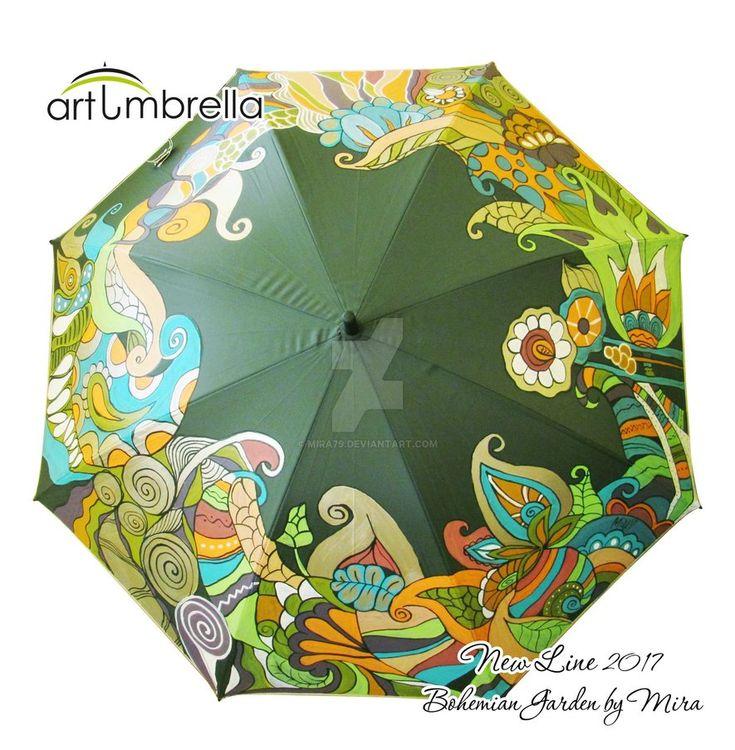 Bohemian Garden Umbrella by Mira79