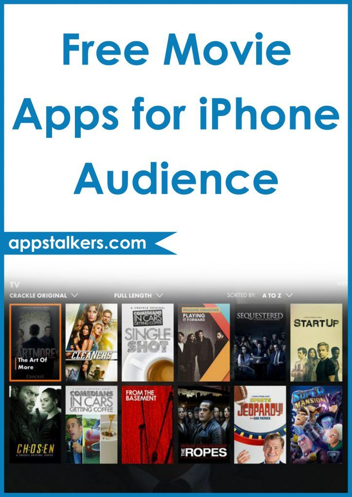 free movie apps iphone