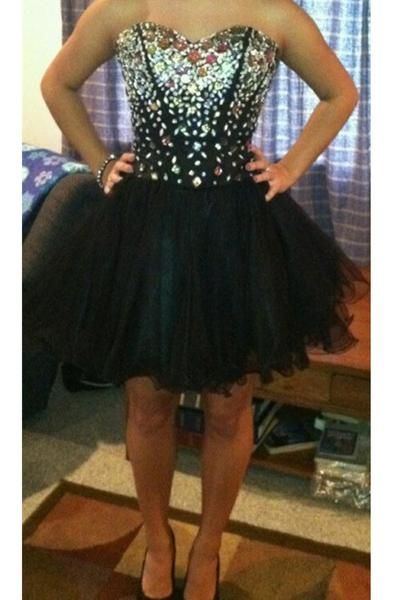 Beading Classy Homecoming Dress,Sexy Party Dress,Charming Homecoming…