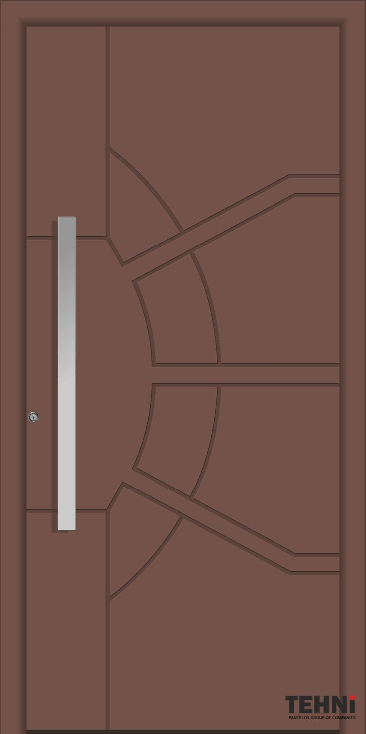 Entrance Doors Tehni S.A. | Pantelos Group #tehni #pantelos #doors #door #interiordesign #designindustry #frontdoor #entrancedoor #entrance #designideas #designinterior #aluminumdoor