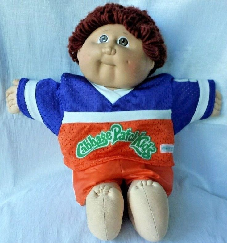 Cabbage Patch Kids Xavier Roberts 15 inch Football player with jersey #DollswithClothingAccessories