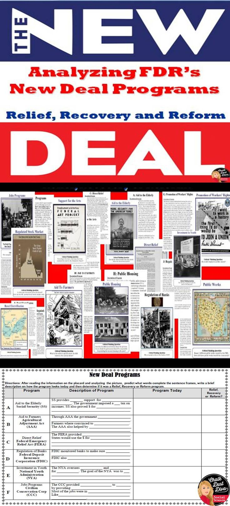 the outside influences of franklin roosevelts new deal program Google groups re: re: hitler, chamberlain, churchill & roosevelt topaz: mar 6,  emanating from high new deal officials, a war hysteria, dangerous to.