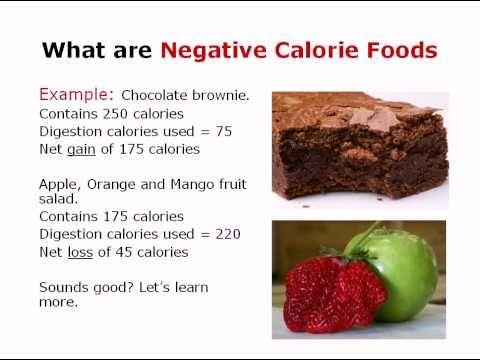 negative calories - Google Search
