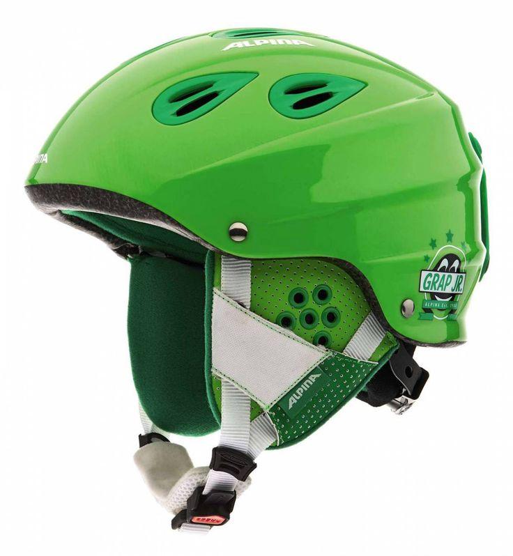 Sportolino Angebote Alpina Grap Junior Kinder-Skihelm (Größe: 54-57 cm, 72 grün): Category: Wintersport>Skihelme>Skihelme Kinder…%#sport%