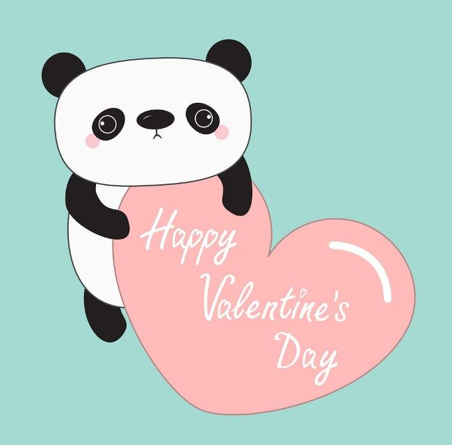 Happy Valentines Day Baby 2019 Cute Animal Clipart Cute Animals With Funny Captions Happy Valentines Day
