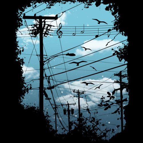 Electric Music City is a T Shirt designed by expo to illustrate your life and is available at Design By Humans