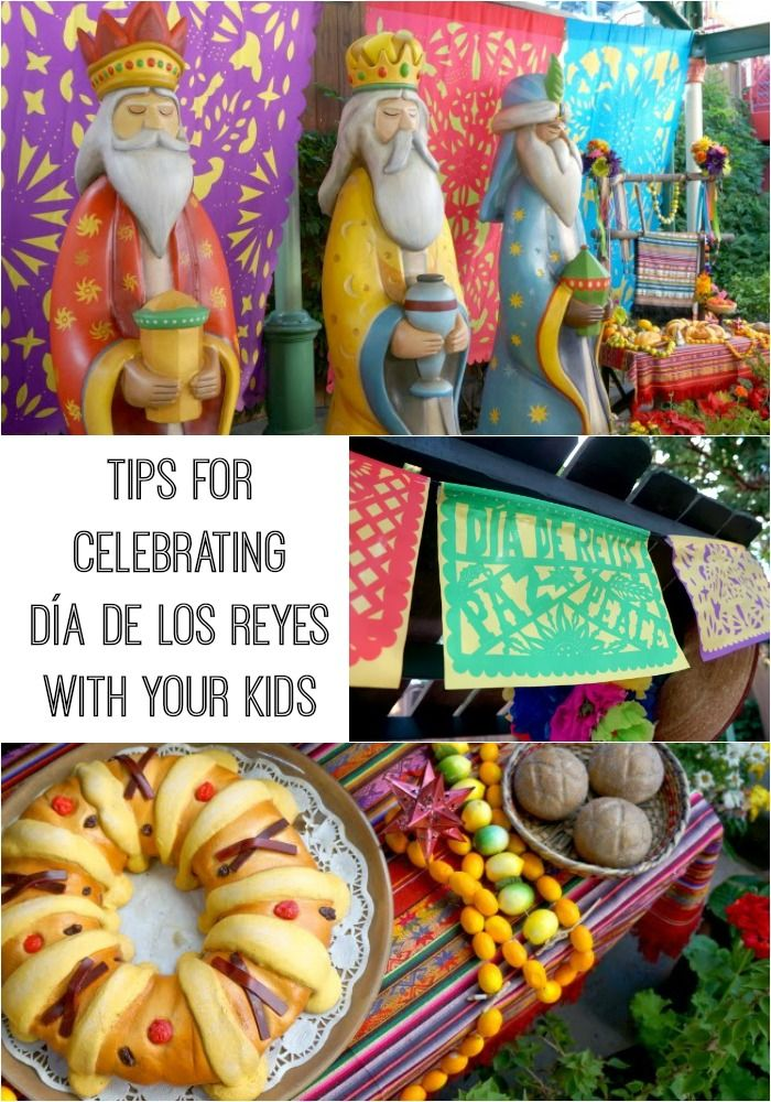 Information about the holiday and tips on how you can celebrate Día de los Reyes with your kids, via @pattiecordova