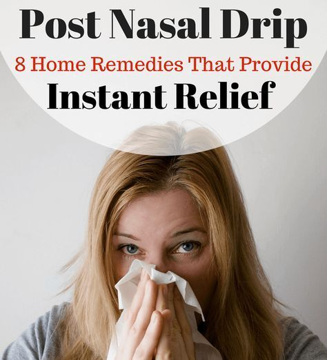 Suffering With Post Nasal Drip? Try These 8 Post Nasal