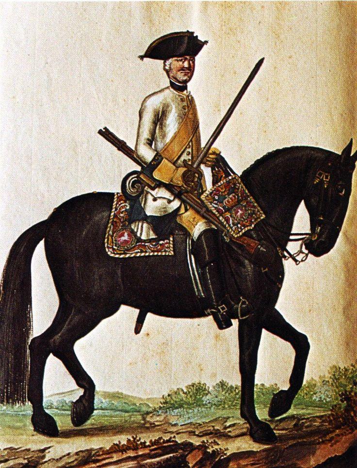 Hanover in the Seven Years War Regiment of Horse von Behr by Karsten