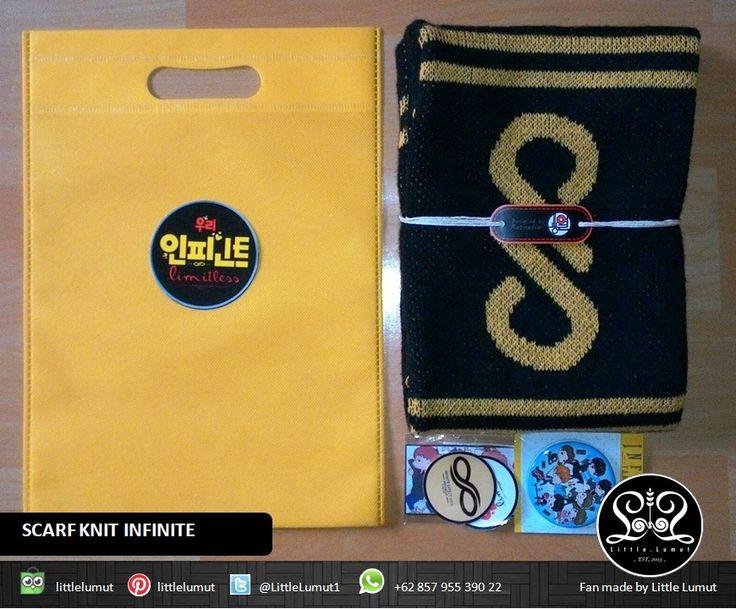 Paket PROMO 1 set = 1 Scarf + 1 PIN