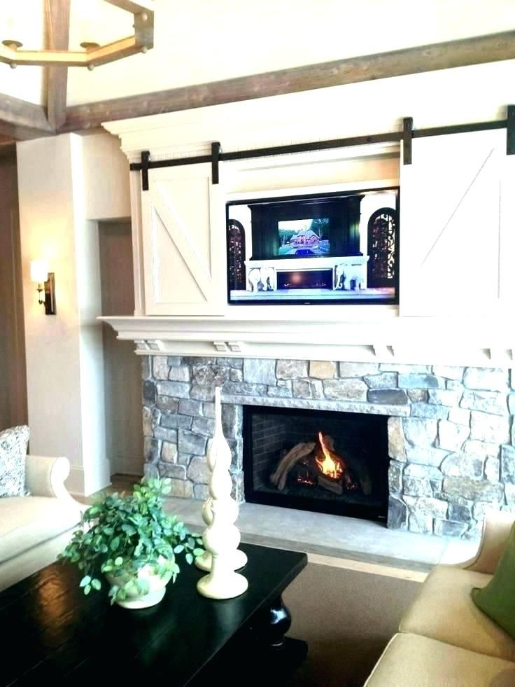 barn doors farmhouse farmhouse fireplace home decor interior rh pinterest com