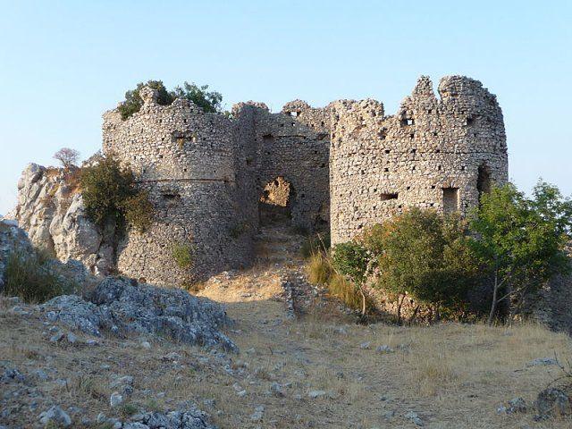 Stilo (ruderi del castello normanno)