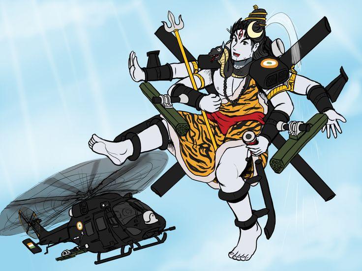 HAL Rudra tan by VachalenXEON.deviantart.com on @DeviantArt