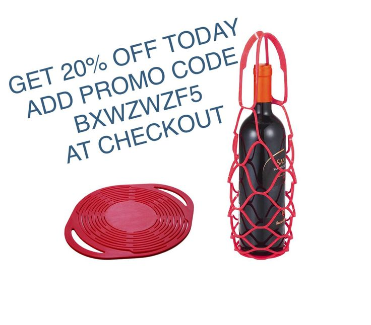 Get 20% off our silicone bottle carrier