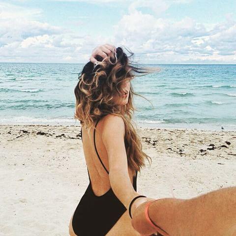 Inspiração: Fotos TUMBLR na Praia Sozinha | BLOG PEQUENAS INFINIDADES