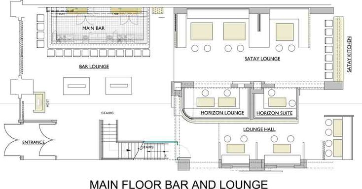 Commercial bar floor plans the lakes country club on for Commercial bar flooring