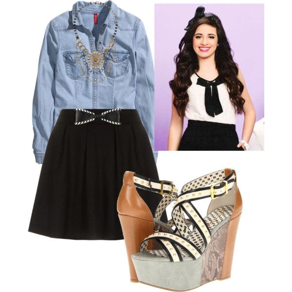 Camila cabello inspired outfit