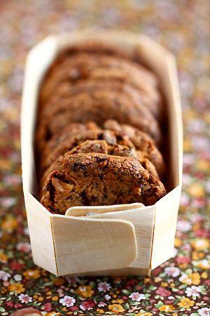 Cookies aux éclats de chocolat et de noisettes - Cuisine Campagne